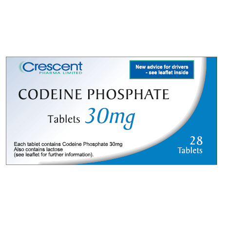 Buy Codeine 30 mg to treat pain